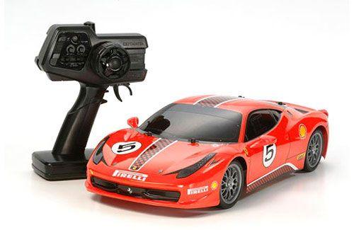 Tamiya 110 XB Ferrari 458 (TT-01)