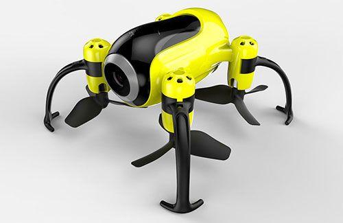 Udi Piglet WiFi Mini Drone Yellow