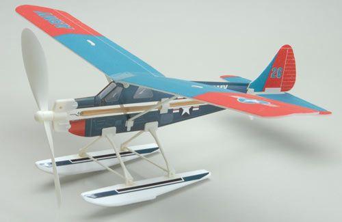Aviator Beaver Rubber Power