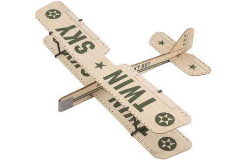 ZT Model Twin Sky Balsa Glider