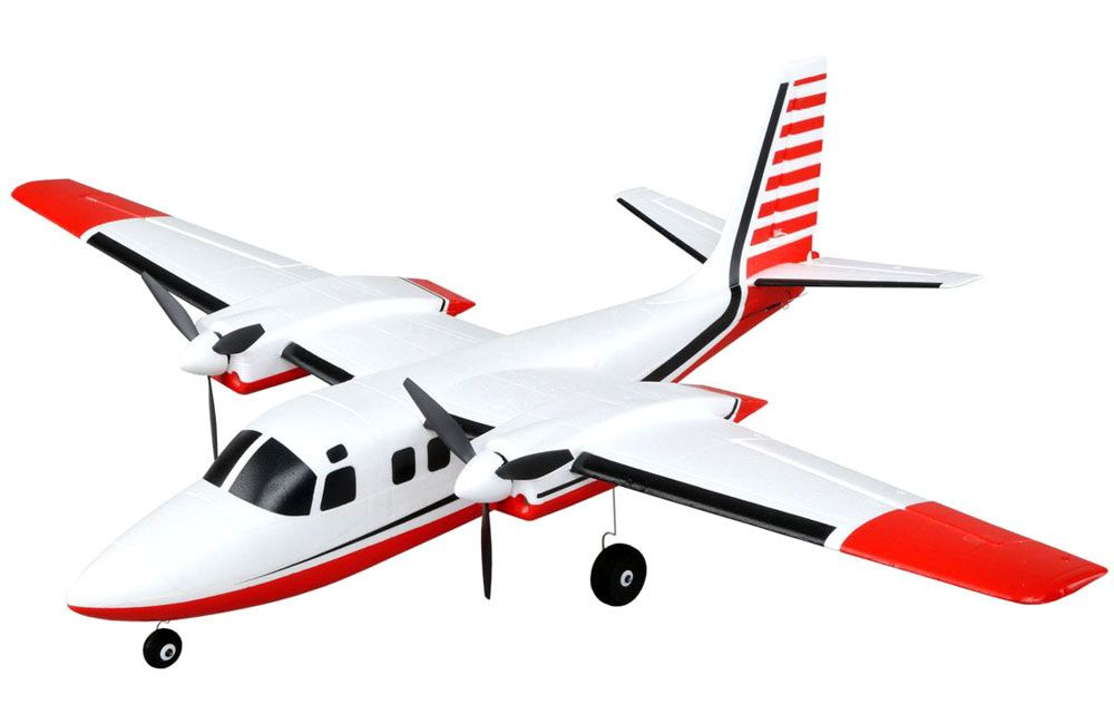 E-Flite UMX Aero Commander AS3X BNF