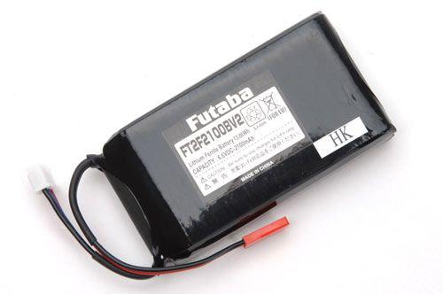 Futaba Transmitter Battery 6.6v Li-Fe 2200mAh (4PLS4PX8J10J14SG18SZ)