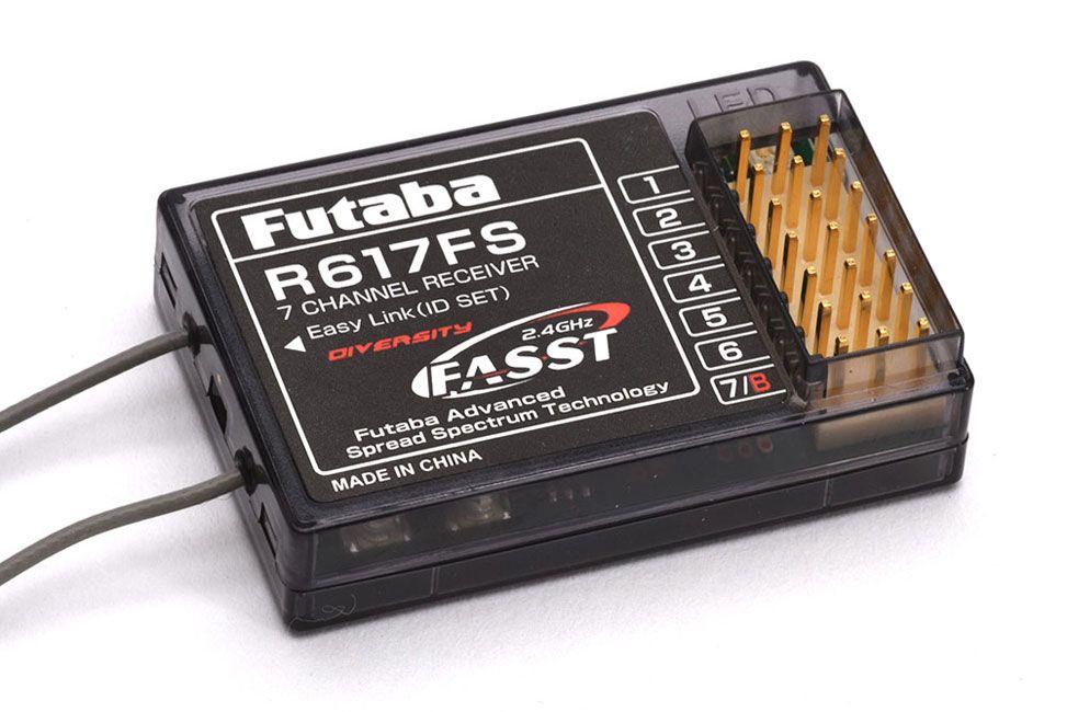 Futaba R617FS 7-Channel Receiver 2.4GHz FASST