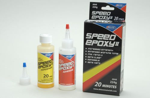 Deluxa Materials 20 Min Speed Epoxy II - 224g (8oz)