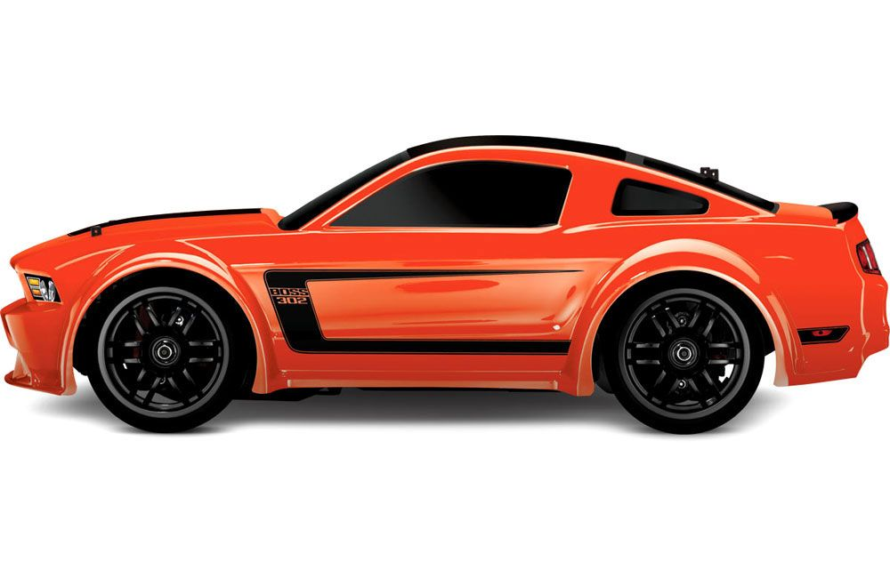 Traxxas 116 Ford Mustang Boss 302 Orange 27MHz RTR