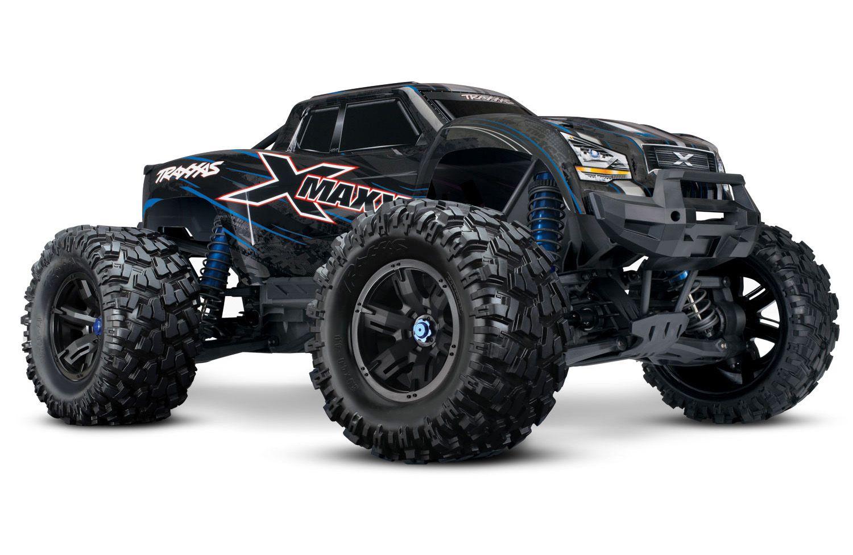 X-Maxx 1/7 4WD 8S (VXL-8S/TQi/No Batt/No Chg) - Blue