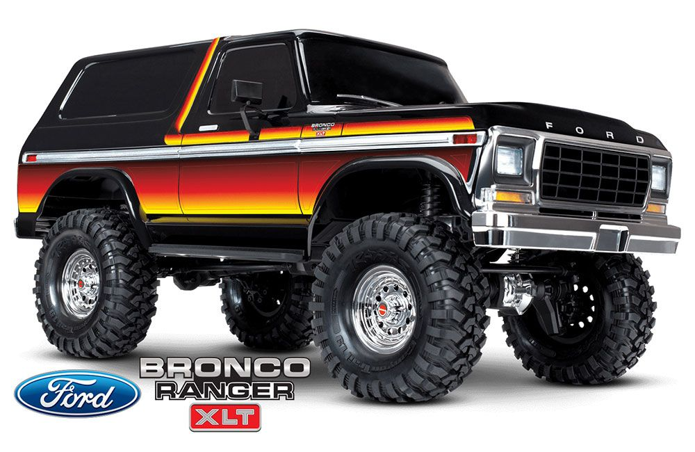Ford Bronco Ranger TRX-4 SWB (TQi/No Batt or Chg) - Sunset