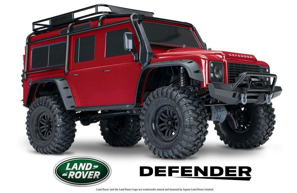 TRX-4 Crawler Land Rover Defender 110 (TQiNo BattNo Chg) -