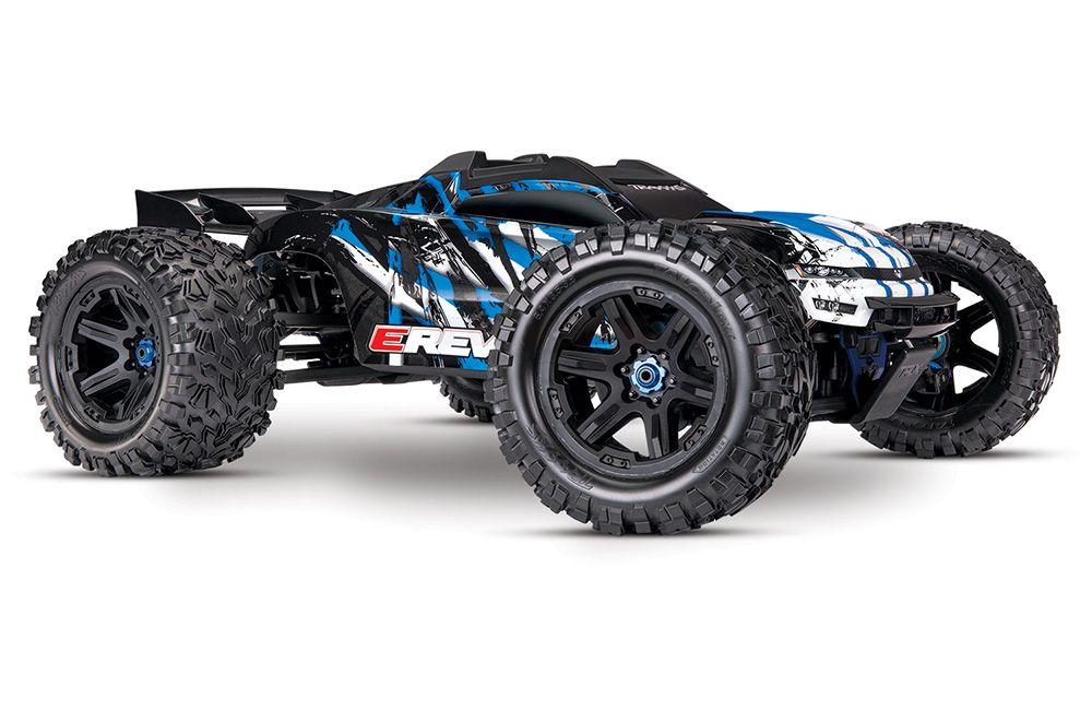 E-Revo II VXL 4WD TSM (TQi/No Batt or Chg) - Blue