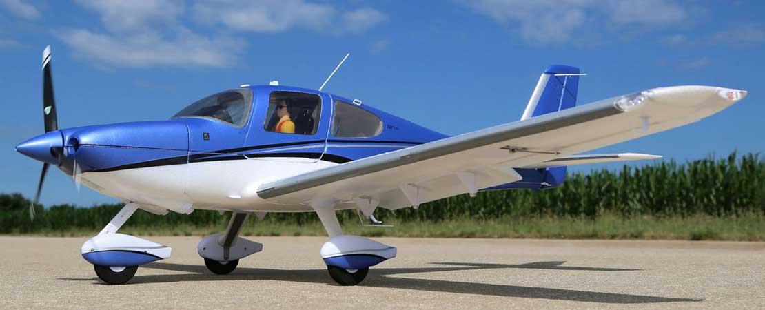 E-Flite Cirrus SR22T 1524mm PNP